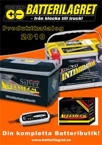 Katalog över batterier